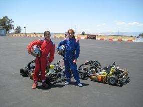 Toni and Annie at Dixon ~ 2009