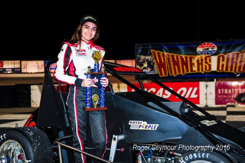 Toni race wwin LVMS