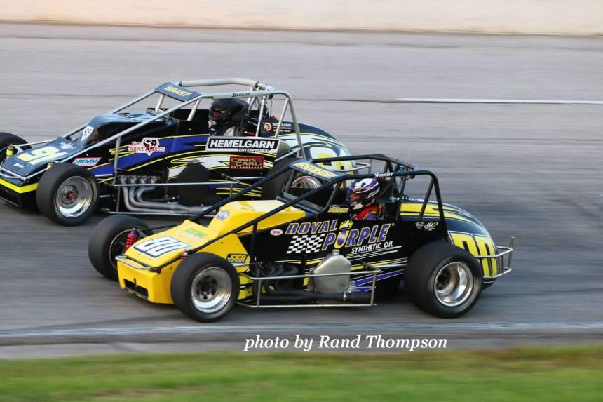 Annie Breidinger brought home her second top-10 at Toledo Speedway